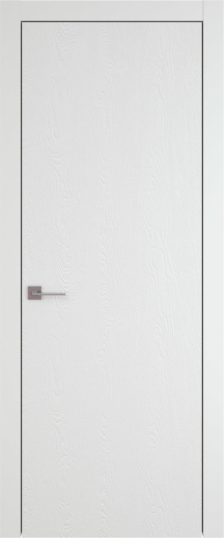 Tivoli А-1 цвет - Белая эмаль по шпону (RAL 9003) Без стекла (ДГ)