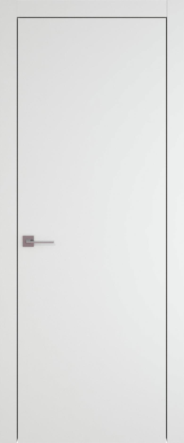 Tivoli А-1 цвет - Белая эмаль (RAL 9003) Без стекла (ДГ)