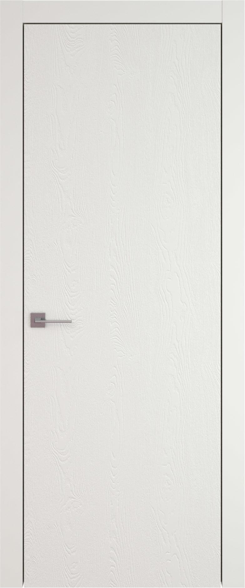 Tivoli А-1 цвет - Бежевая эмаль по шпону (RAL 9010) Без стекла (ДГ)