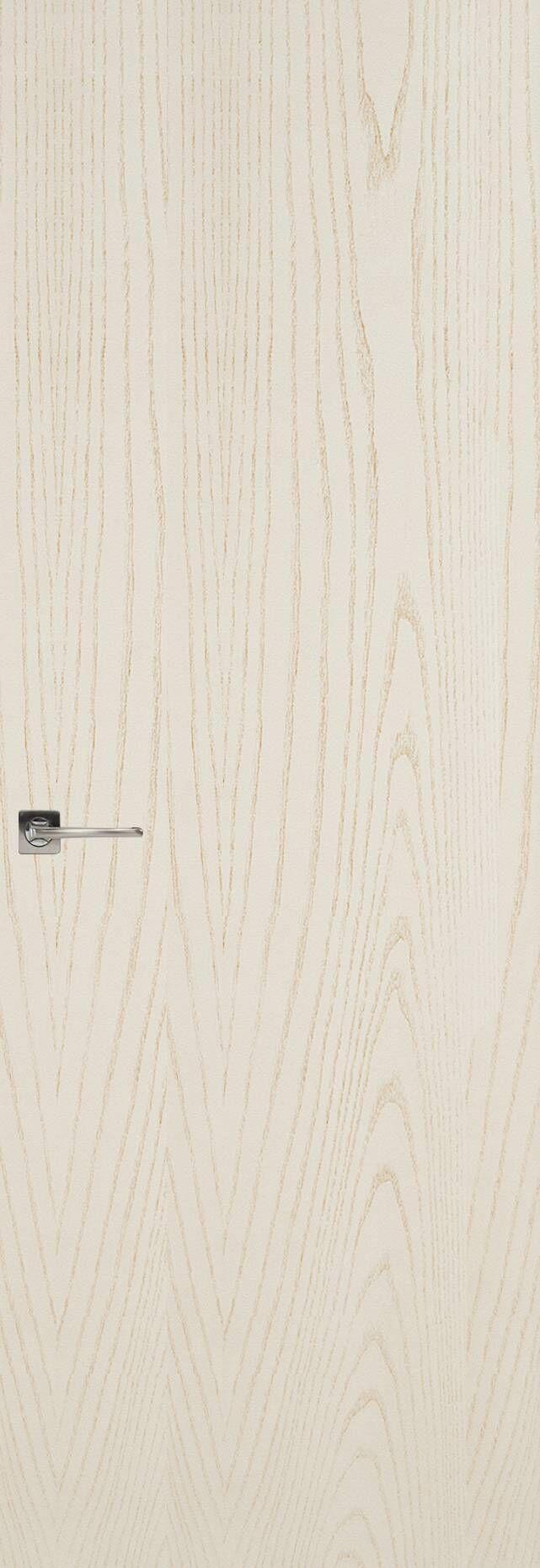 Tivoli А-1 Невидимка цвет - Ясень бежевая эмаль Без стекла (ДГ)