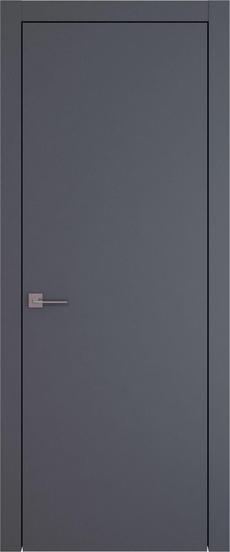 Tivoli А-1 цвет - Графитово-серая эмаль (RAL 7024) Без стекла (ДГ)
