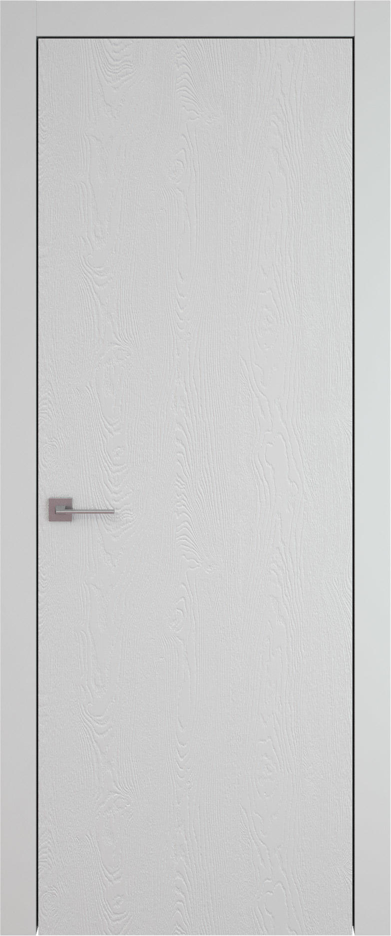 Tivoli А-1 цвет - Серая эмаль по шпону (RAL 7047) Без стекла (ДГ)
