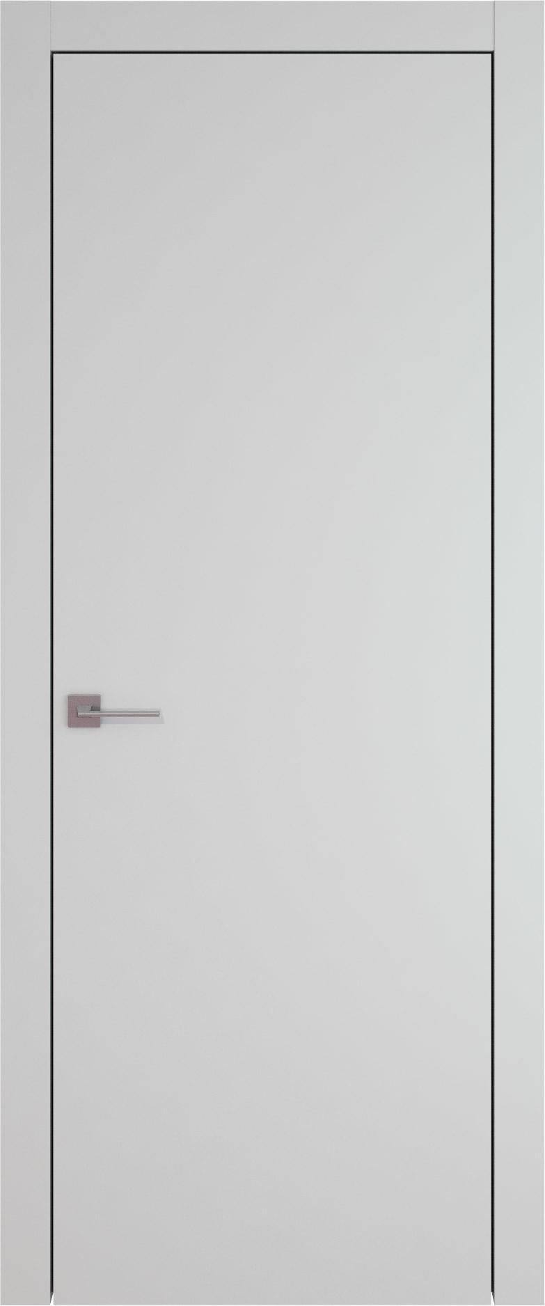Tivoli А-1 цвет - Серая эмаль (RAL 7047) Без стекла (ДГ)