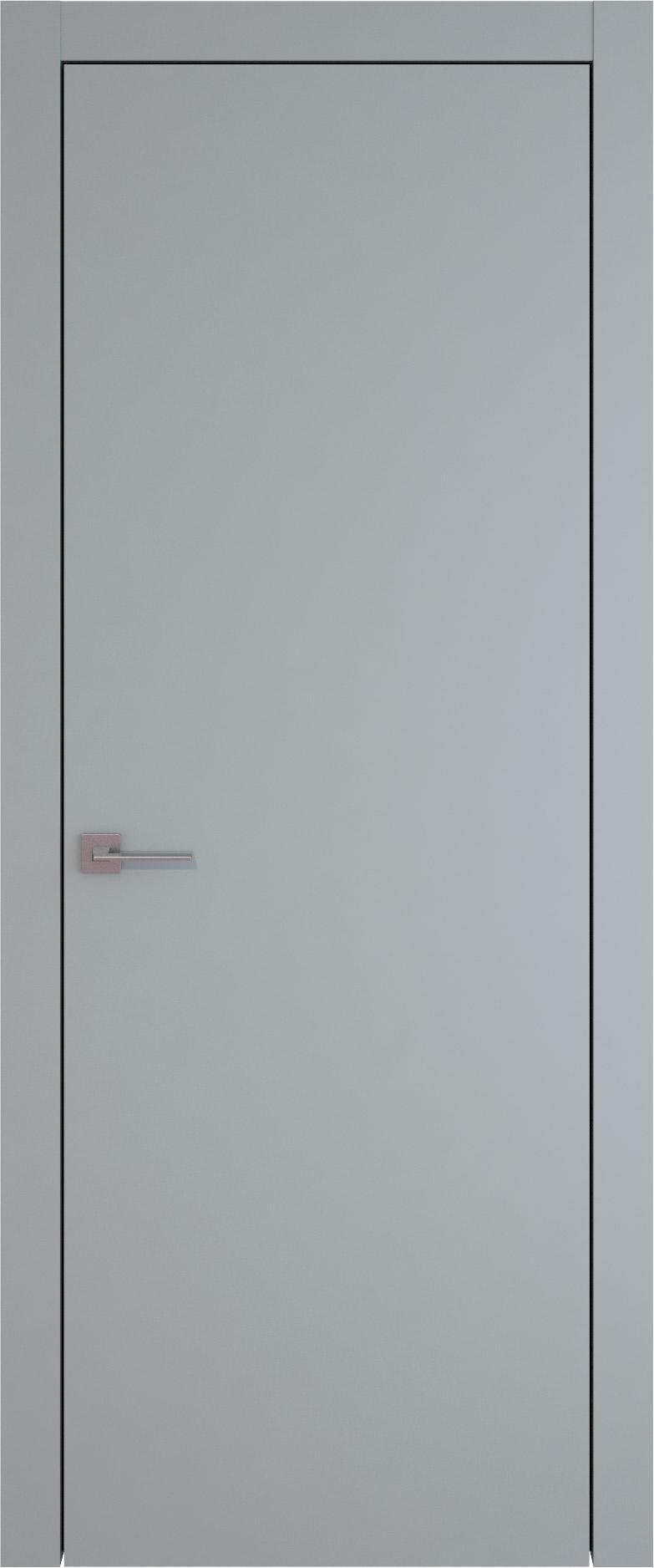 Tivoli А-1 цвет - Серебристо-серая эмаль (RAL 7045) Без стекла (ДГ)