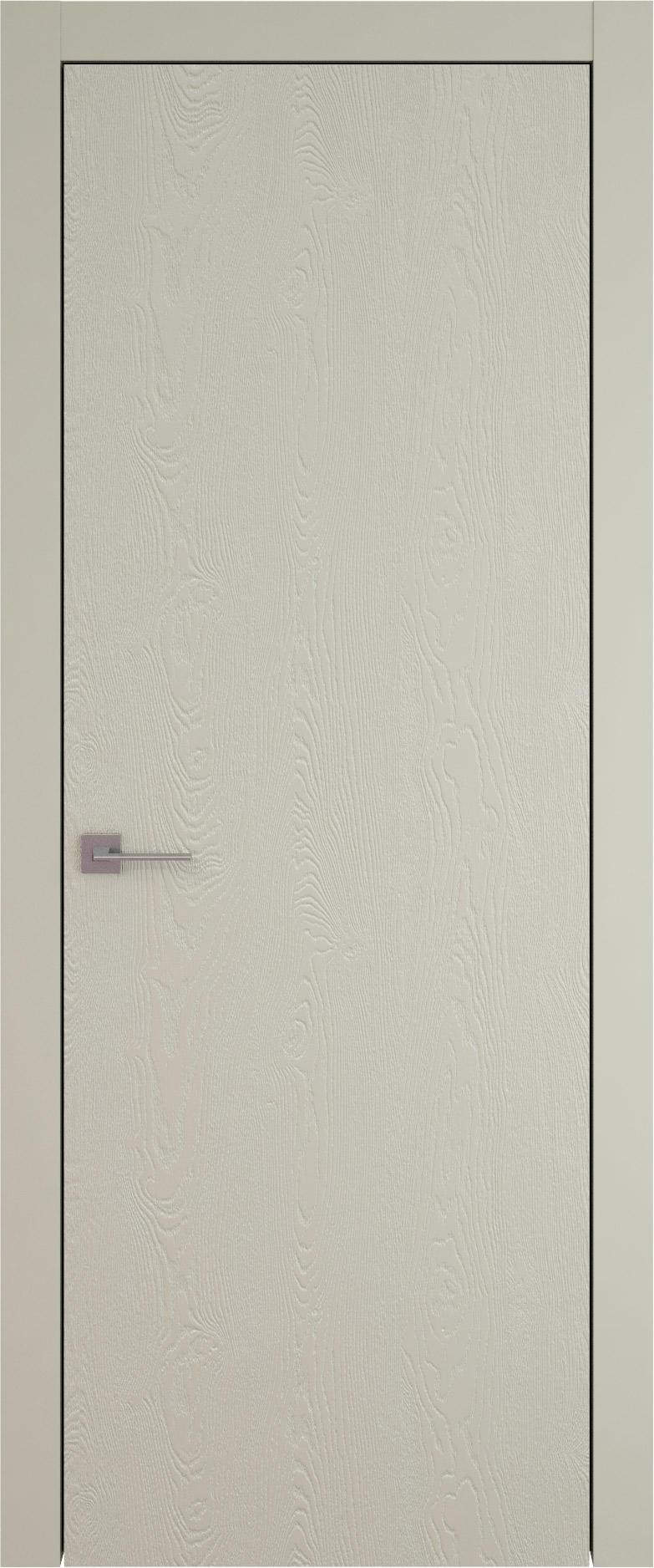 Tivoli А-1 цвет - Серо-оливковая эмаль по шпону (RAL 7032) Без стекла (ДГ)
