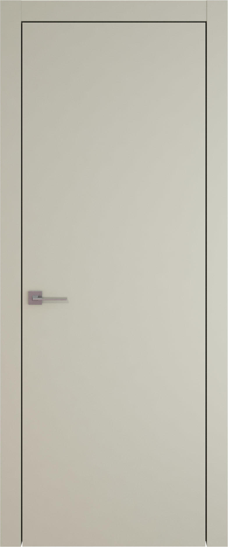 Tivoli А-1 цвет - Серо-оливковая эмаль (RAL 7032) Без стекла (ДГ)