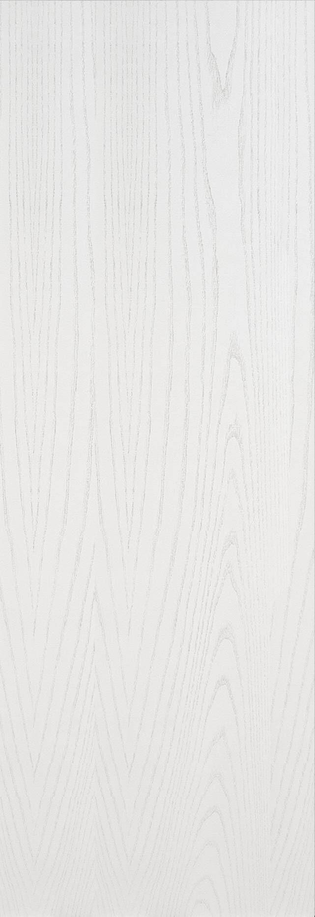 Tivoli А-1 Invisible цвет - Ясень белая эмаль Без стекла (ДГ)