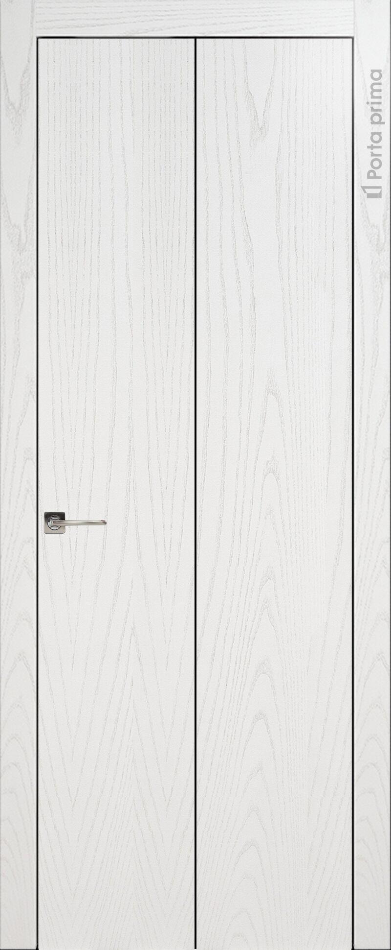 Tivoli А-1 Книжка цвет - Ясень белая эмаль Без стекла (ДГ)
