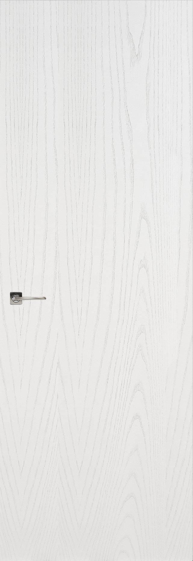 Tivoli А-1 Невидимка цвет - Ясень белая эмаль Без стекла (ДГ)