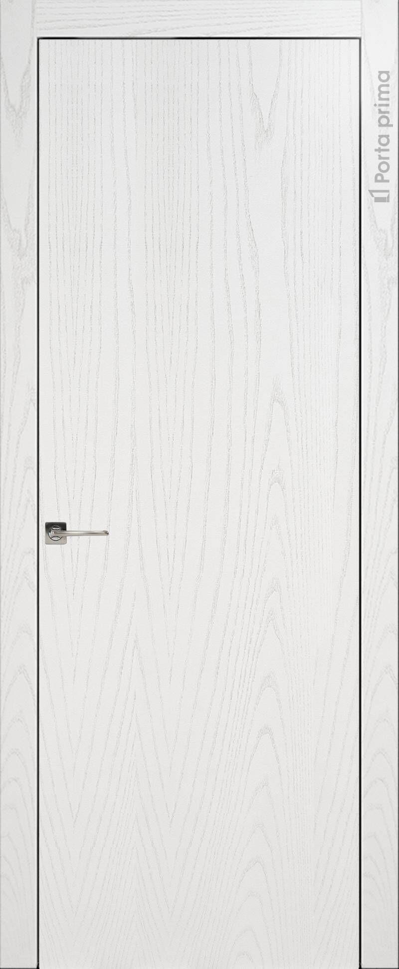 Tivoli А-1 цвет - Белый ясень (шпон) Без стекла (ДГ)