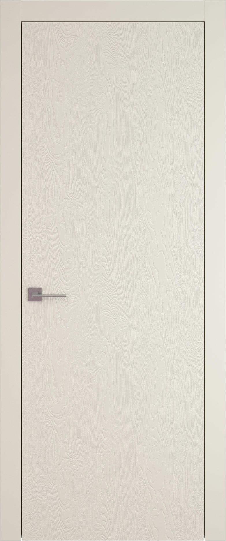 Tivoli А-1 цвет - Жемчужная эмаль по шпону (RAL 1013) Без стекла (ДГ)