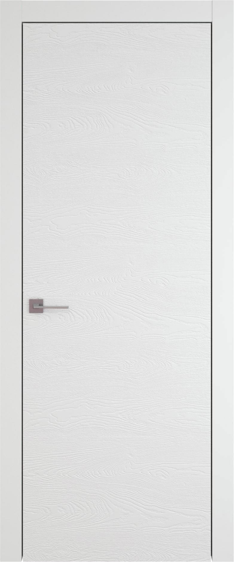 Tivoli А-2 цвет - Белая эмаль по шпону (RAL 9003) Без стекла (ДГ)