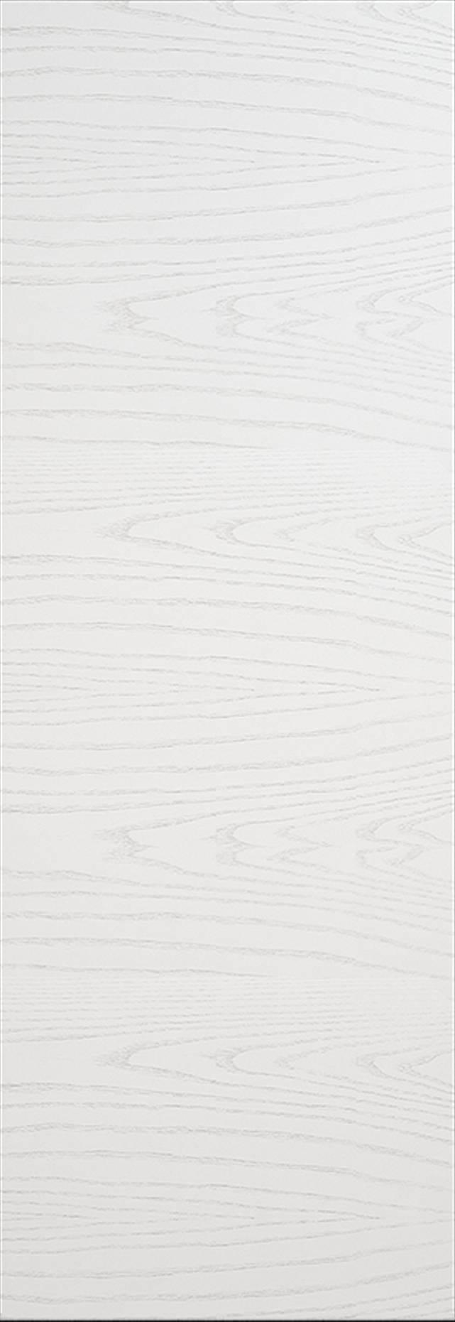 Tivoli А-2 Invisible цвет - Ясень белая эмаль Без стекла (ДГ)