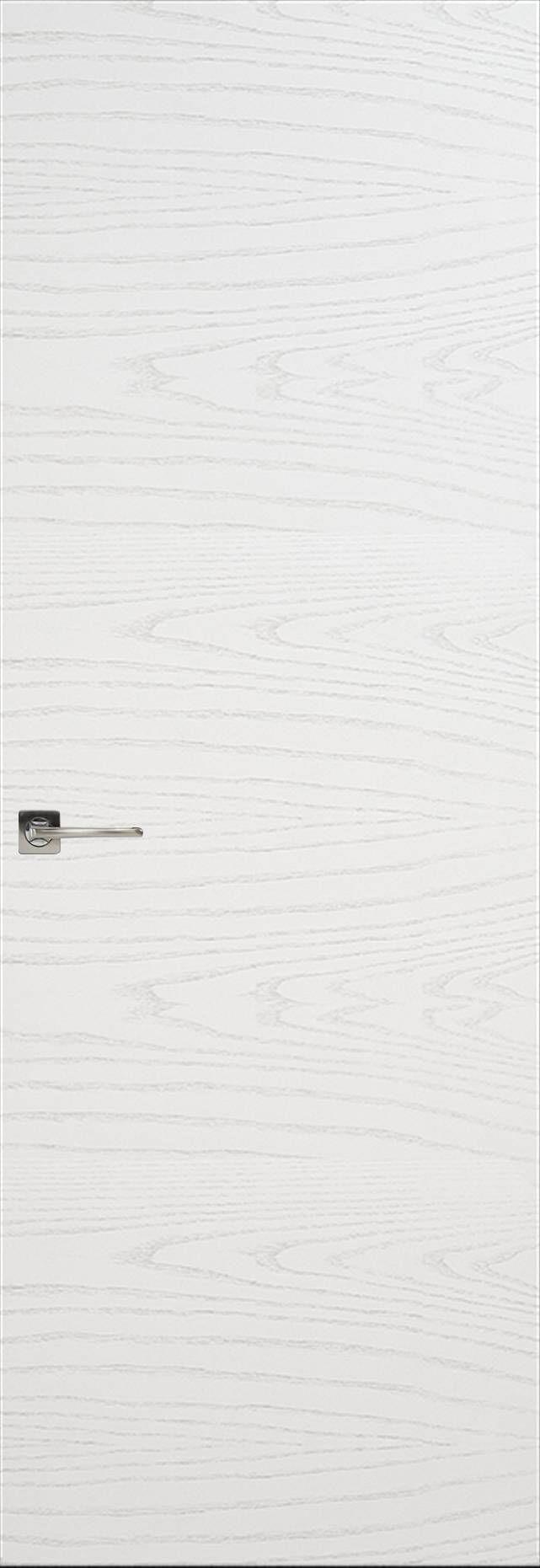 Tivoli А-2 Невидимка цвет - Ясень белая эмаль Без стекла (ДГ)