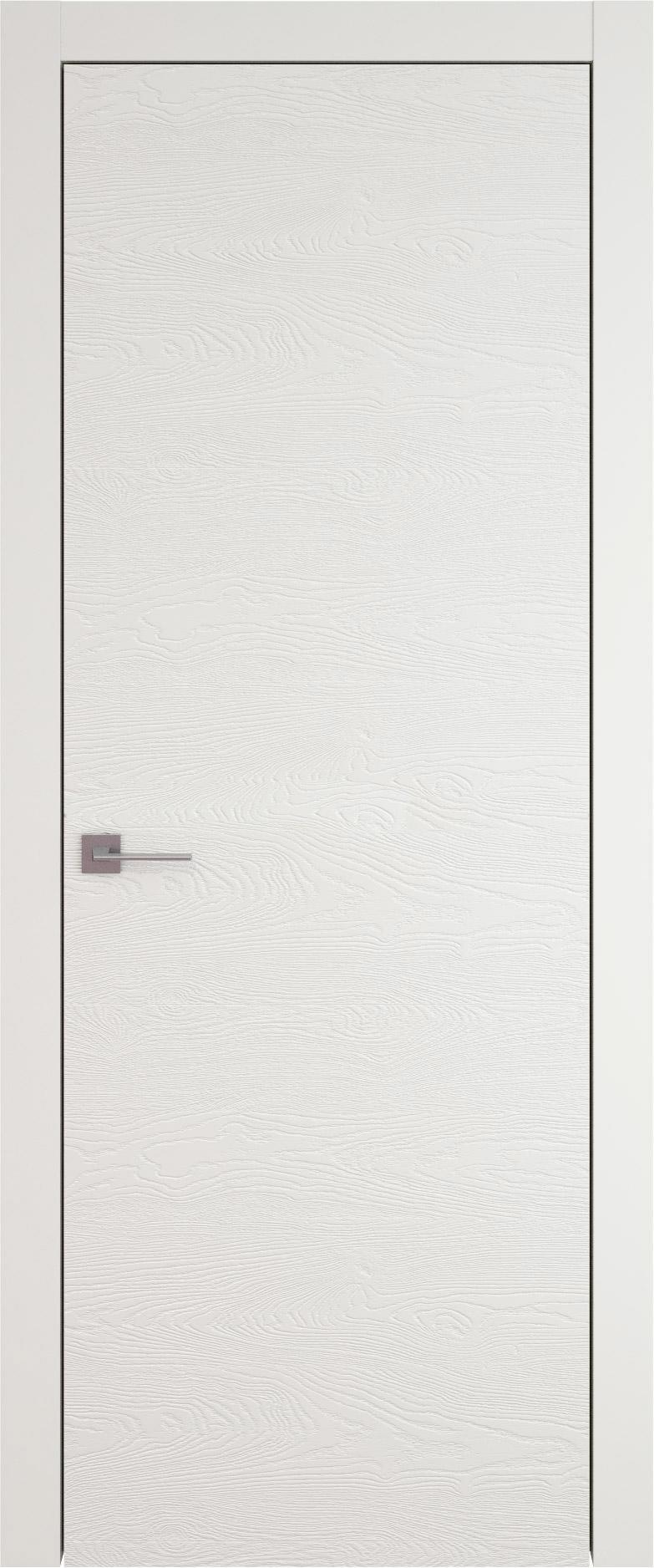 Tivoli А-2 цвет - Бежевая эмаль по шпону (RAL 9010) Без стекла (ДГ)