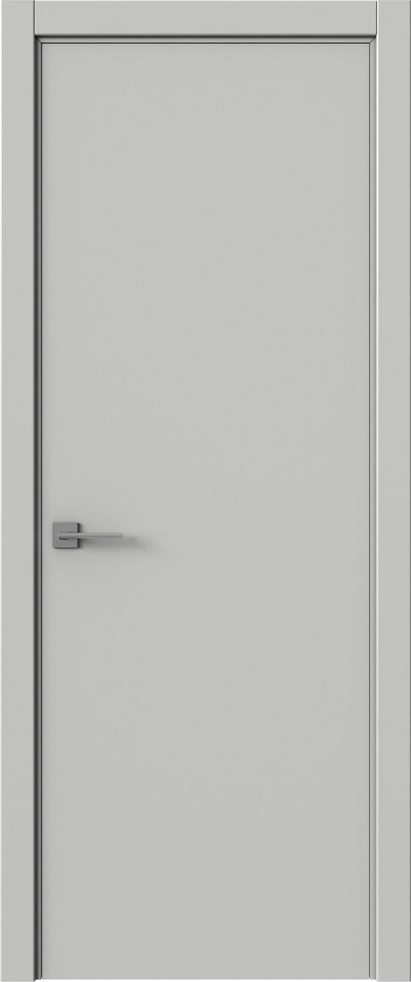 Tivoli А-2 цвет - Серая эмаль (RAL 7047) Без стекла (ДГ)
