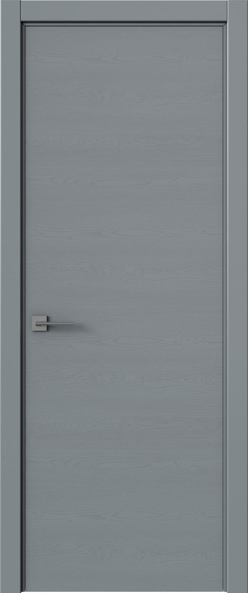 Tivoli А-2 цвет - Серебристо-серая эмаль по шпону (RAL 7045) Без стекла (ДГ)