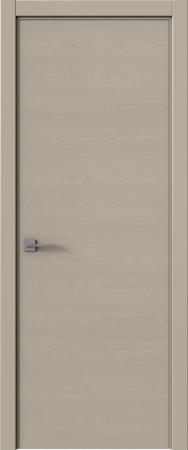 Tivoli А-2 цвет - Серо-оливковая эмаль по шпону (RAL 7032) Без стекла (ДГ)