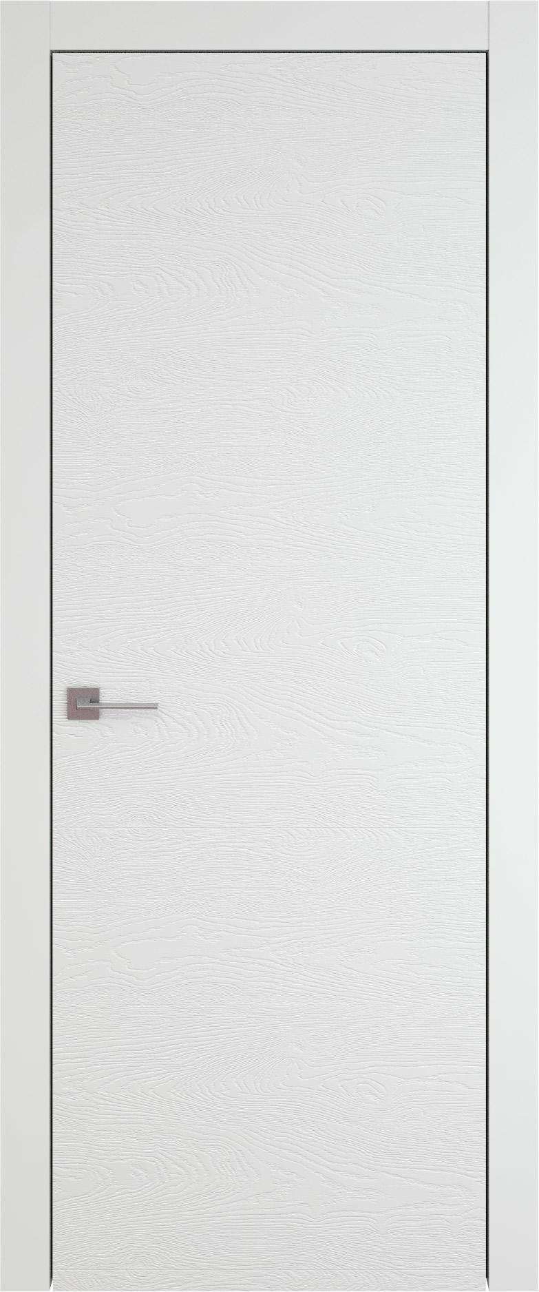 Tivoli А-5 цвет - Белая эмаль по шпону (RAL 9003) Без стекла (ДГ)