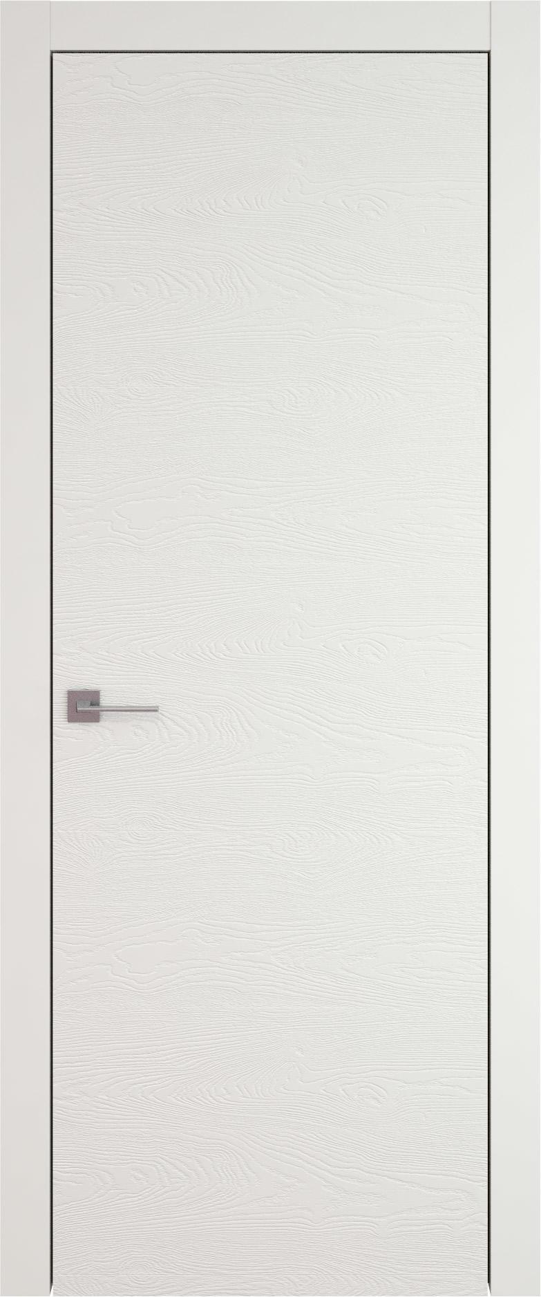 Tivoli А-5 цвет - Бежевая эмаль по шпону (RAL 9010) Без стекла (ДГ)