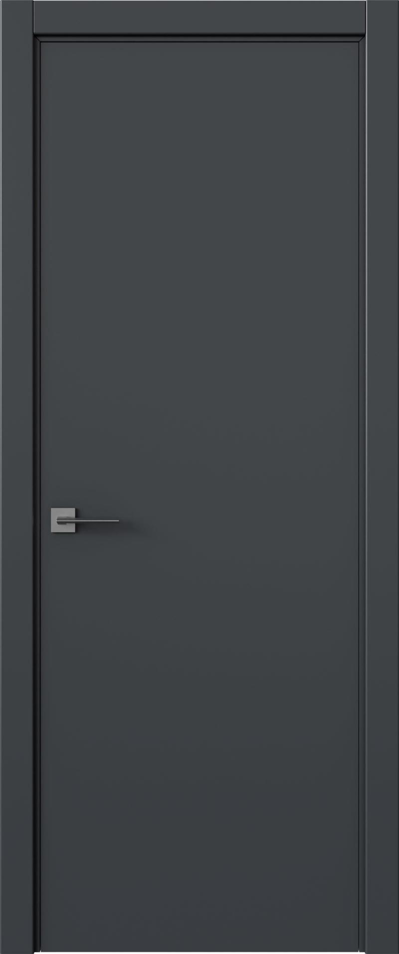 Tivoli А-5 цвет - Графитово-серая эмаль (RAL 7024) Без стекла (ДГ)