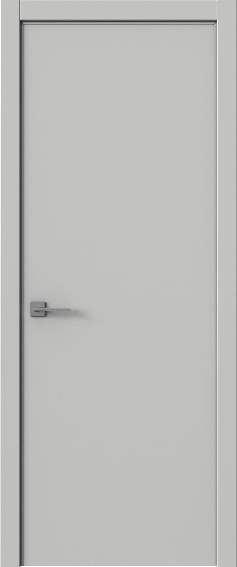 Tivoli А-5 цвет - Серая эмаль (RAL 7047) Без стекла (ДГ)