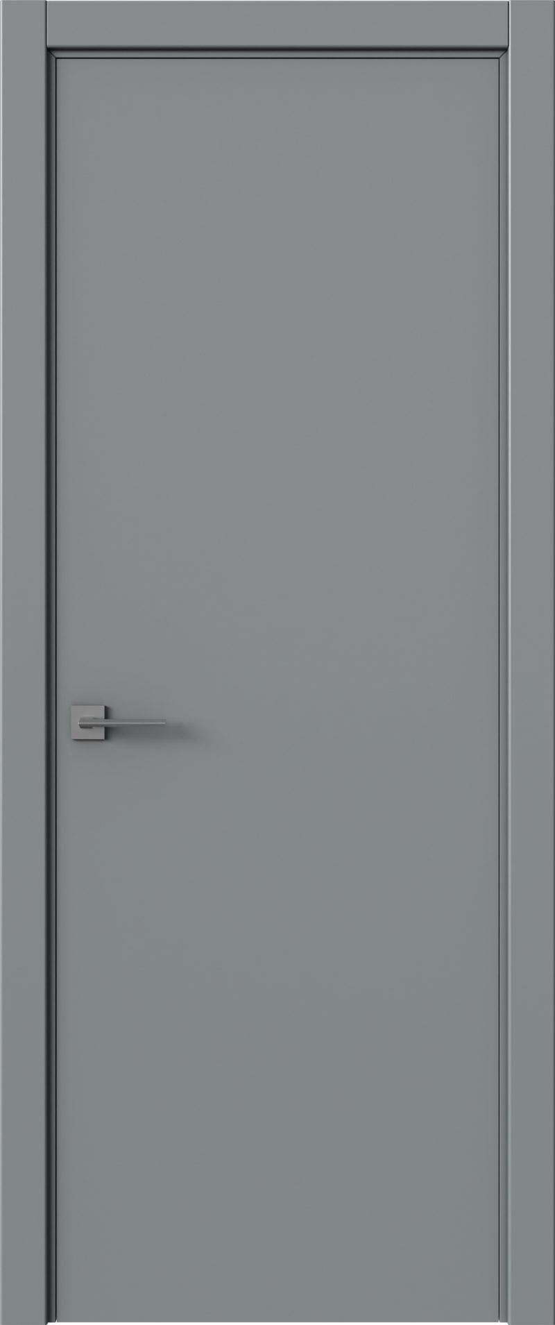 Tivoli А-5 цвет - Серебристо-серая эмаль (RAL 7045) Без стекла (ДГ)