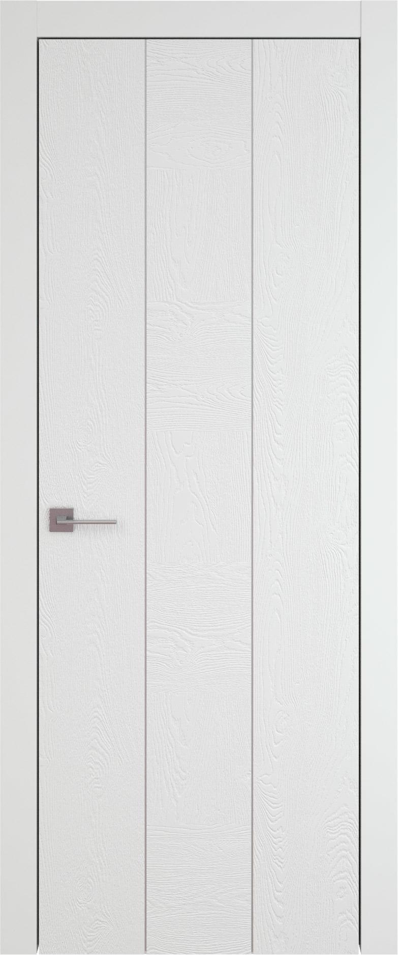 Tivoli Б-1 цвет - Белая эмаль по шпону (RAL 9003) Без стекла (ДГ)