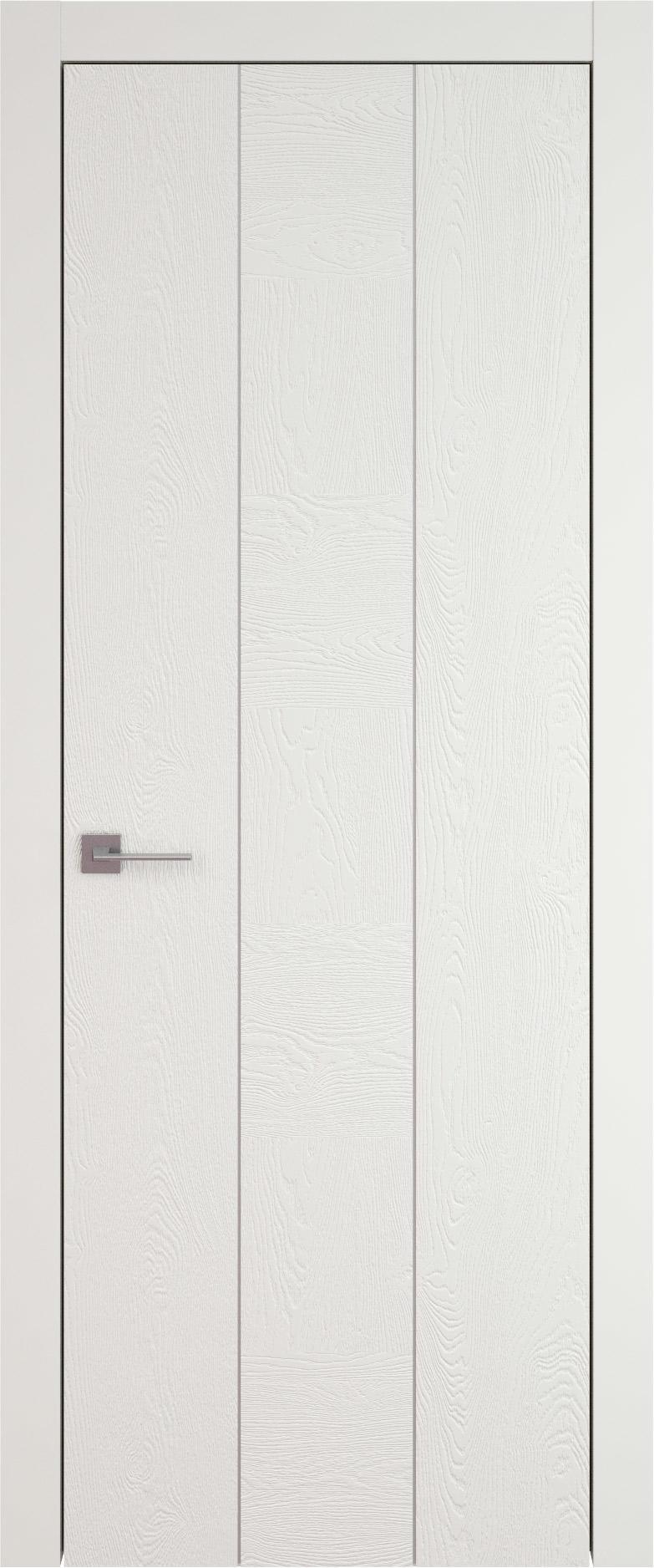 Tivoli Б-1 цвет - Бежевая эмаль по шпону (RAL 9010) Без стекла (ДГ)