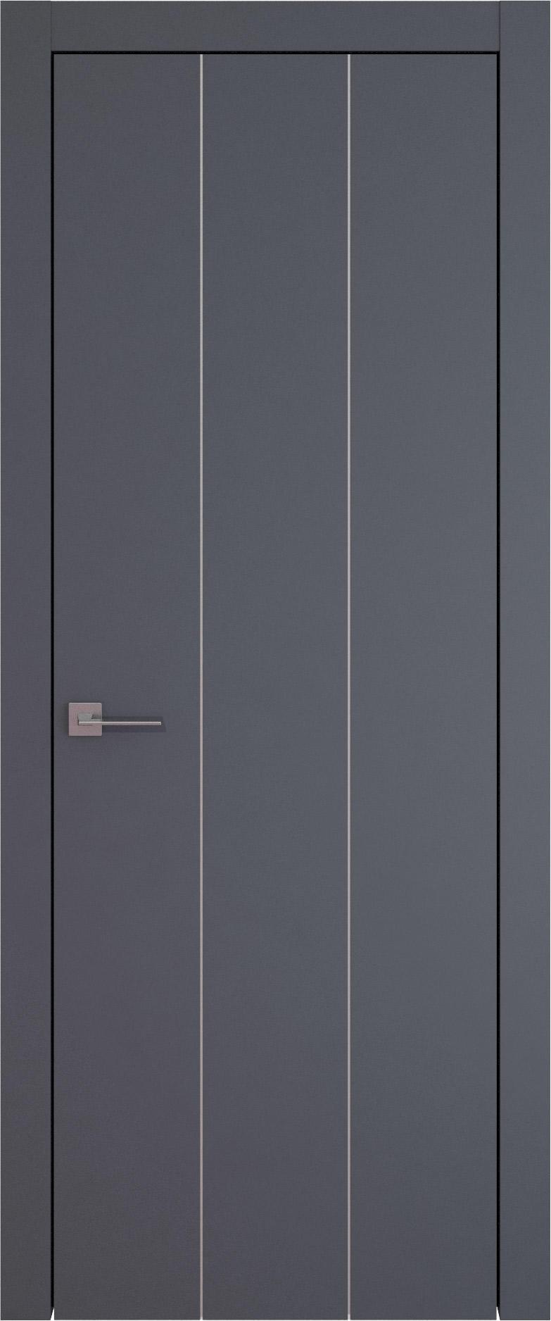 Tivoli Б-1 цвет - Графитово-серая эмаль (RAL 7024) Без стекла (ДГ)