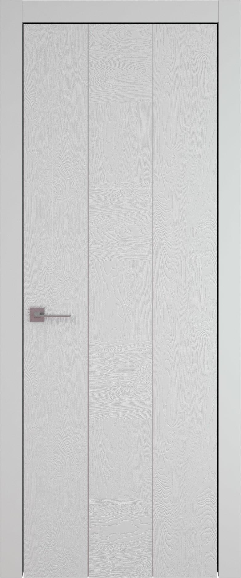 Tivoli Б-1 цвет - Серая эмаль по шпону (RAL 7047) Без стекла (ДГ)