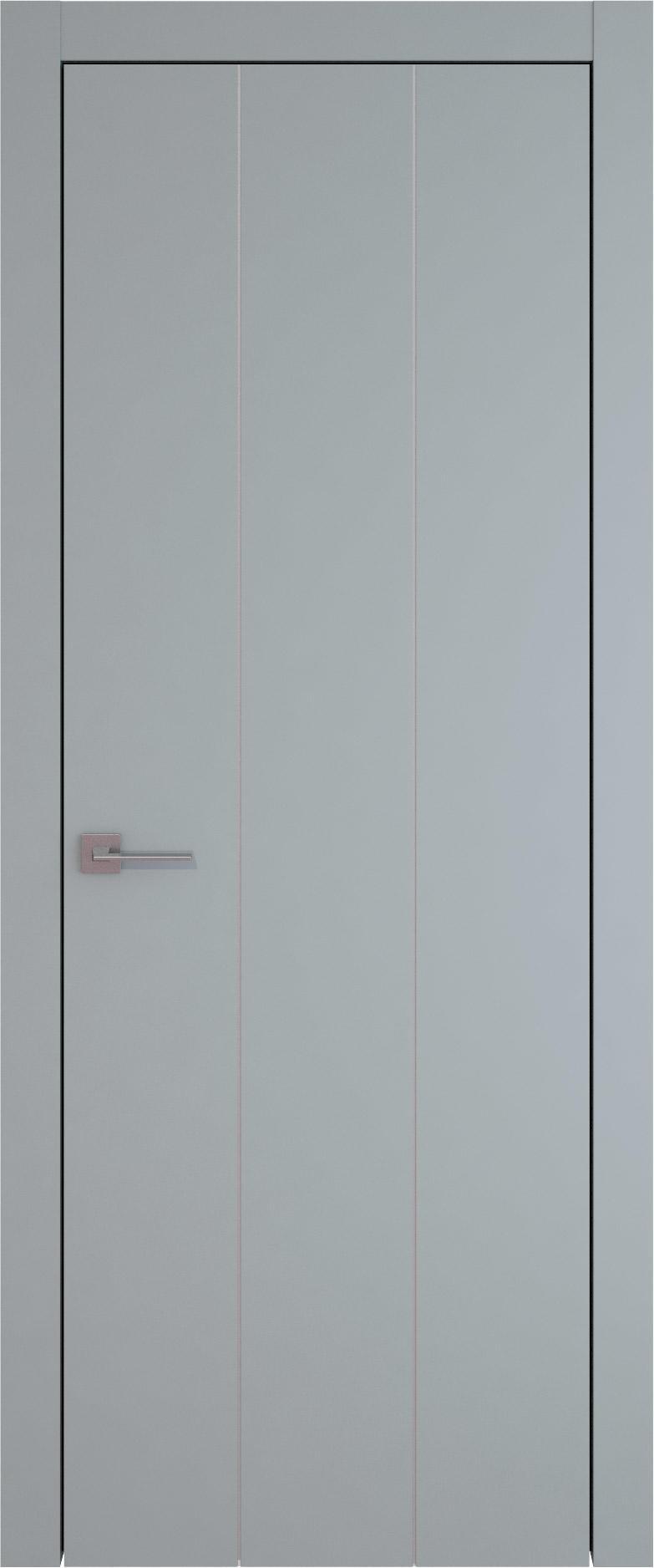 Tivoli Б-1 цвет - Серебристо-серая эмаль (RAL 7045) Без стекла (ДГ)