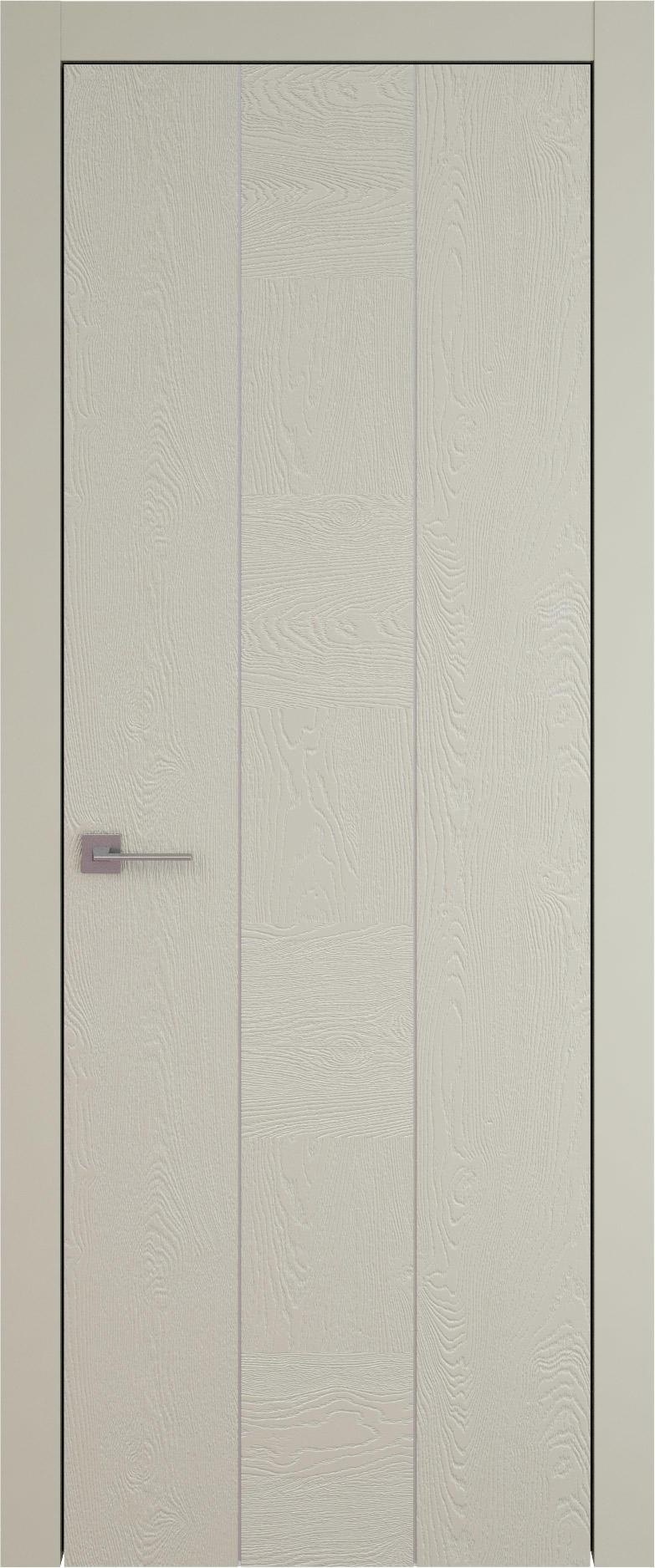Tivoli Б-1 цвет - Серо-оливковая эмаль по шпону (RAL 7032) Без стекла (ДГ)