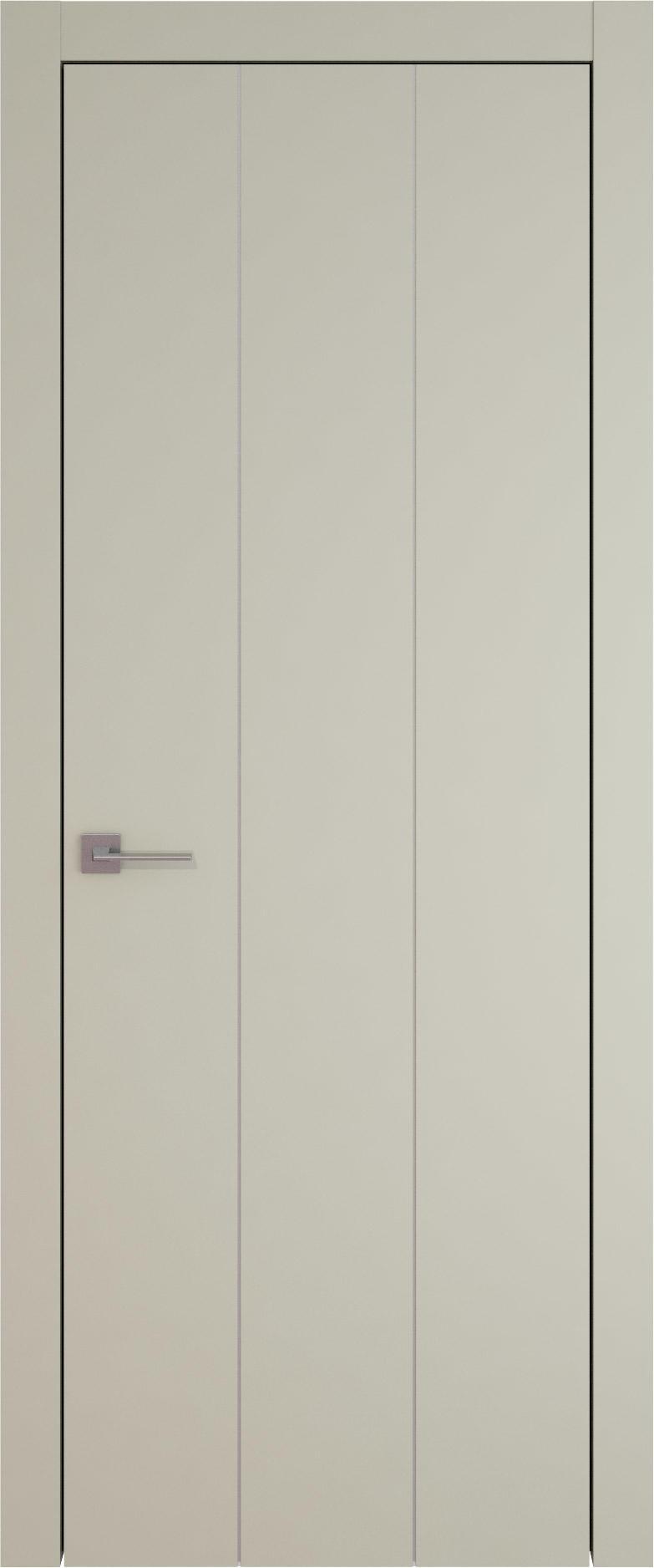 Tivoli Б-1 цвет - Серо-оливковая эмаль (RAL 7032) Без стекла (ДГ)