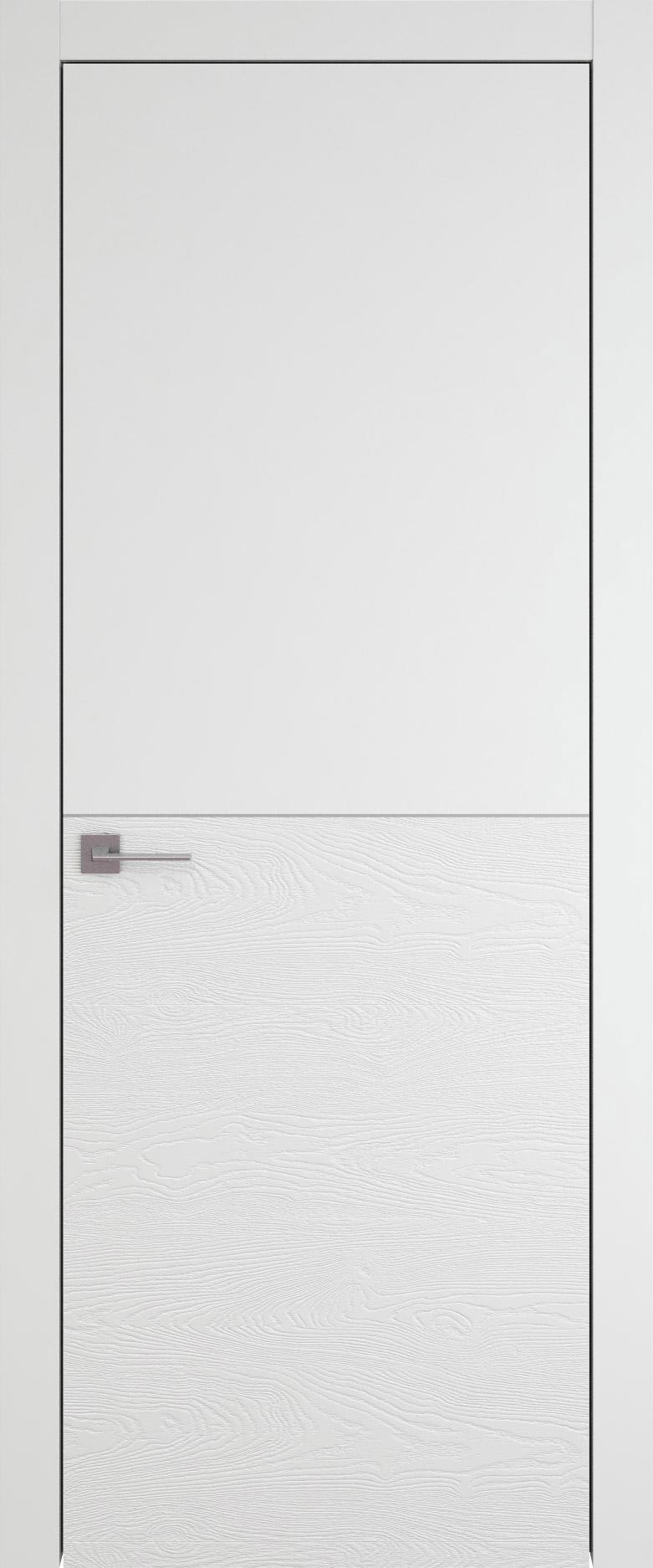 Tivoli Б-2 цвет - Белая эмаль-эмаль по шпону (RAL 9003) Без стекла (ДГ)