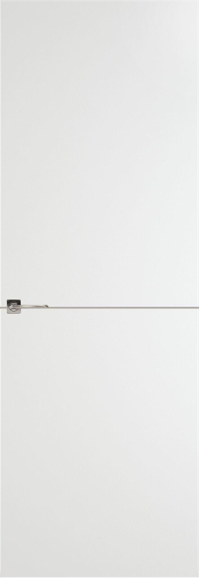 Tivoli Б-2 невидимка цвет - Белая эмаль Без стекла (ДГ)