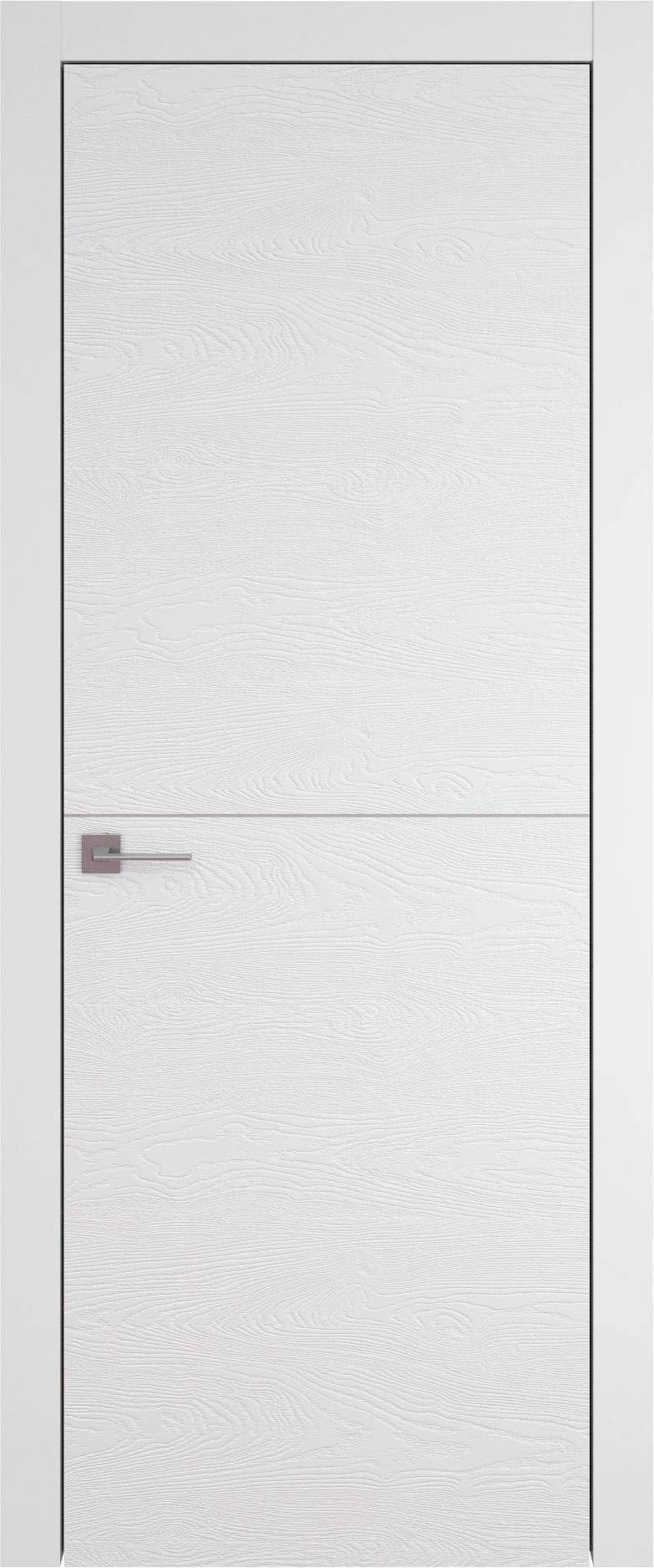 Tivoli Б-2 цвет - Белая эмаль по шпону (RAL 9003) Без стекла (ДГ)