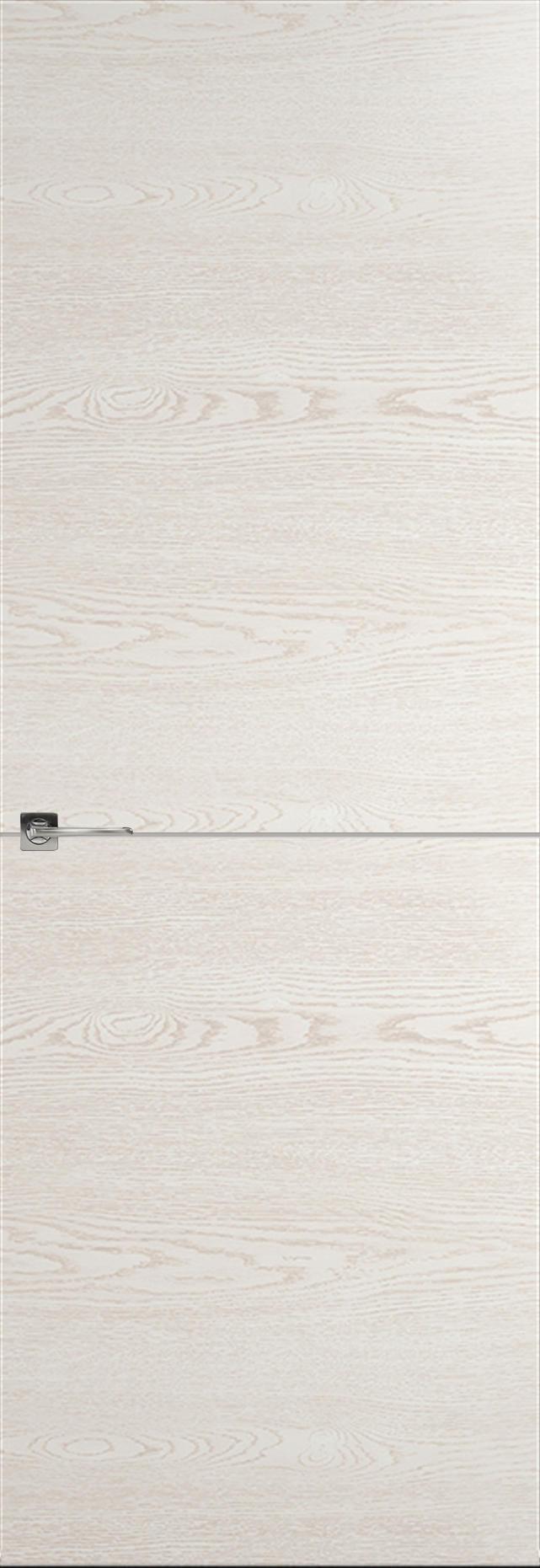 Tivoli Б-2 невидимка цвет - Белый ясень Без стекла (ДГ)