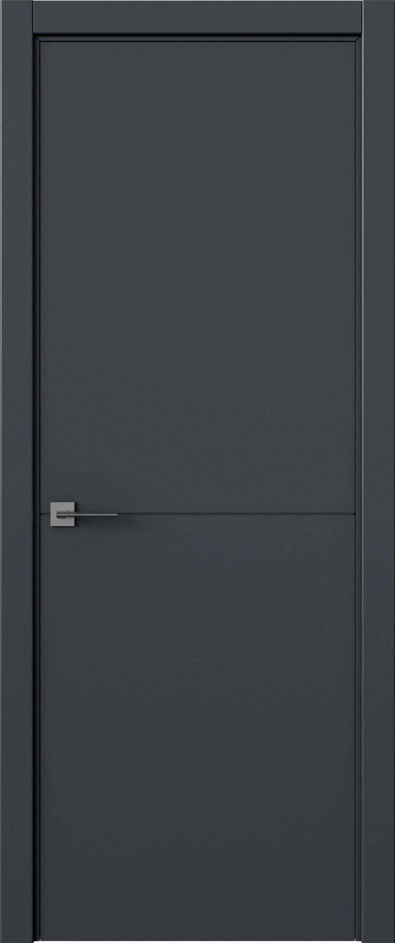 Tivoli Б-2 цвет - Графитово-серая эмаль (RAL 7024) Без стекла (ДГ)