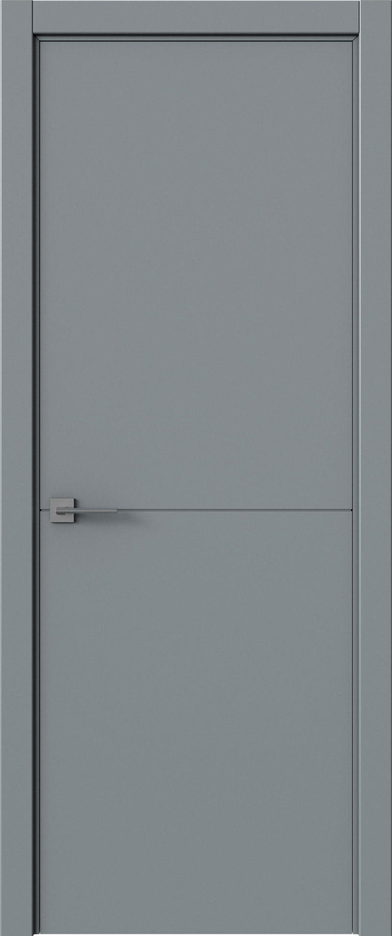 Tivoli Б-2 цвет - Серебристо-серая эмаль (RAL 7045) Без стекла (ДГ)