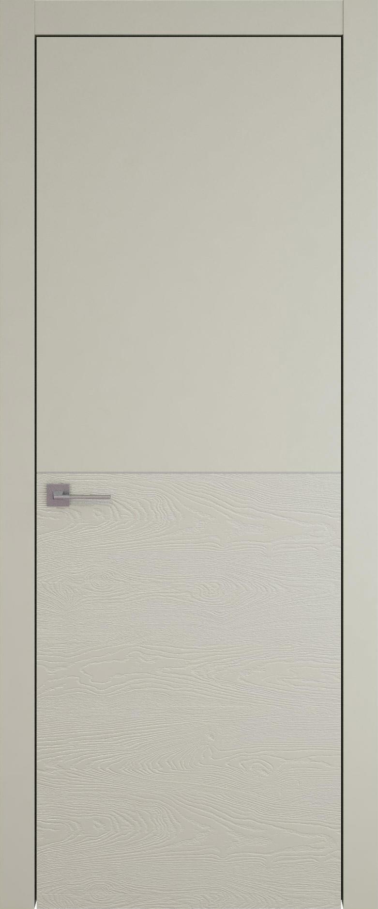 Tivoli Б-2 цвет - Серо-оливковая эмаль-эмаль по шпону (RAL 7032) Без стекла (ДГ)