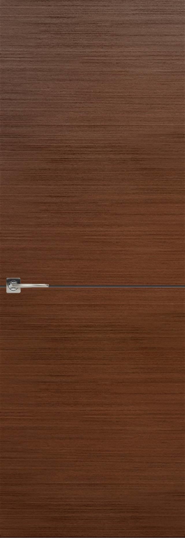 Tivoli Б-2 невидимка цвет - Темный орех Без стекла (ДГ)