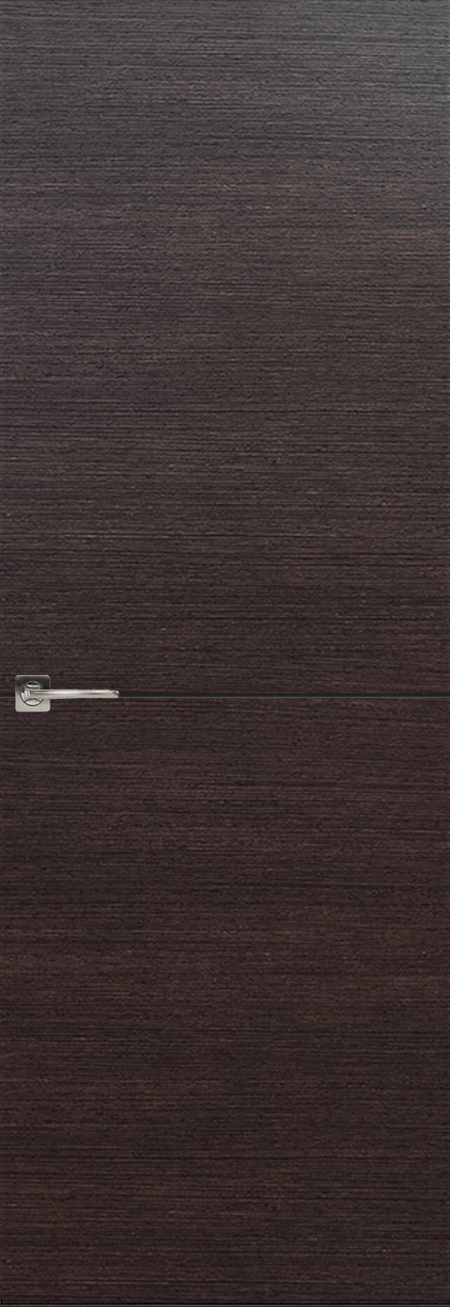 Tivoli Б-2 невидимка цвет - Венге Шоколад Без стекла (ДГ)
