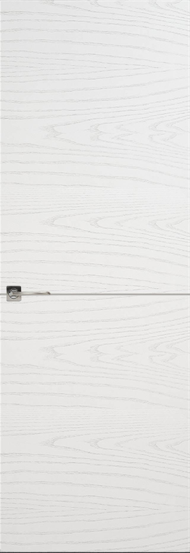 Tivoli Б-2 невидимка цвет - Ясень белая эмаль Без стекла (ДГ)