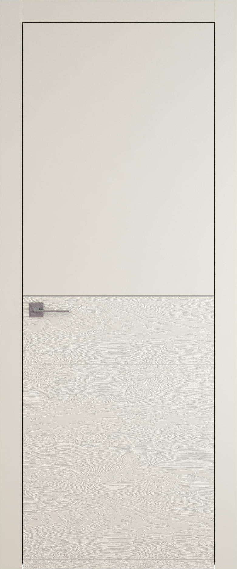 Tivoli Б-2 цвет - Жемчужная эмаль-эмаль по шпону (RAL 1013) Без стекла (ДГ)