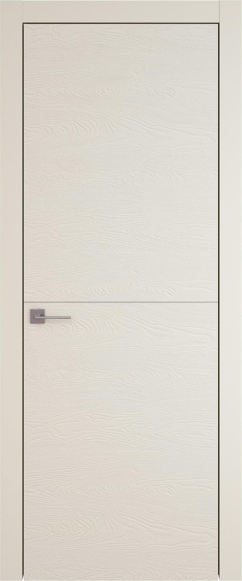 Tivoli Б-2 цвет - Жемчужная эмаль по шпону (RAL 1013) Без стекла (ДГ)