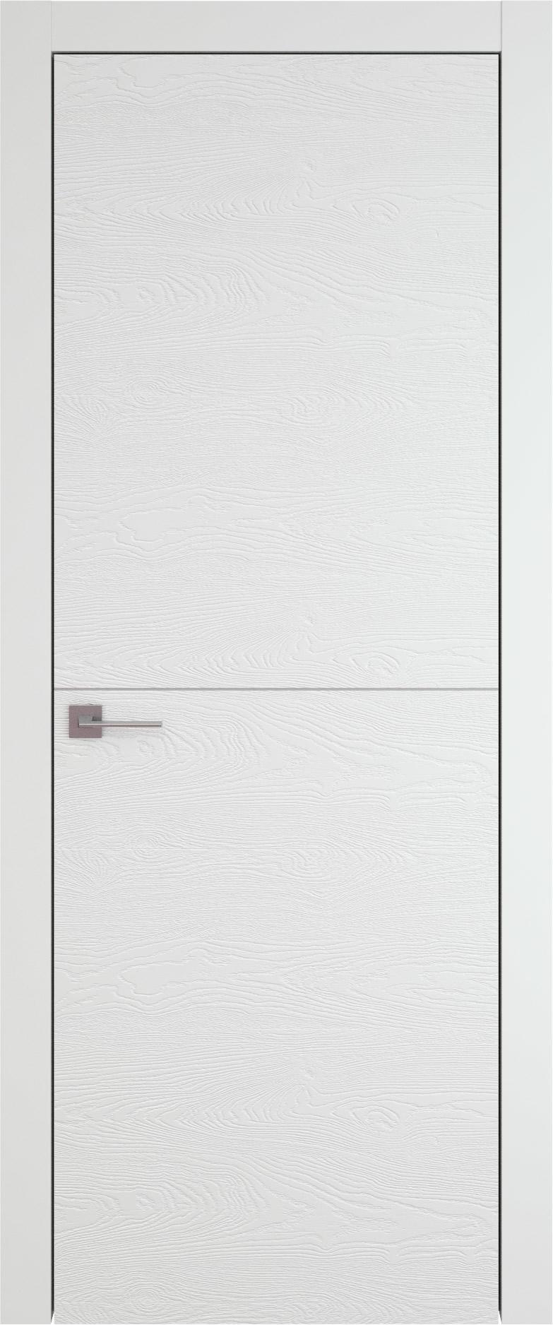 Tivoli Б-3 цвет - Белая эмаль по шпону (RAL 9003) Без стекла (ДГ)