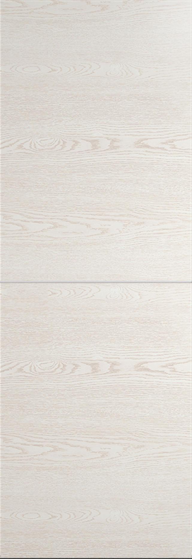 Tivoli Б-3 Invisible цвет - Белый ясень Без стекла (ДГ)