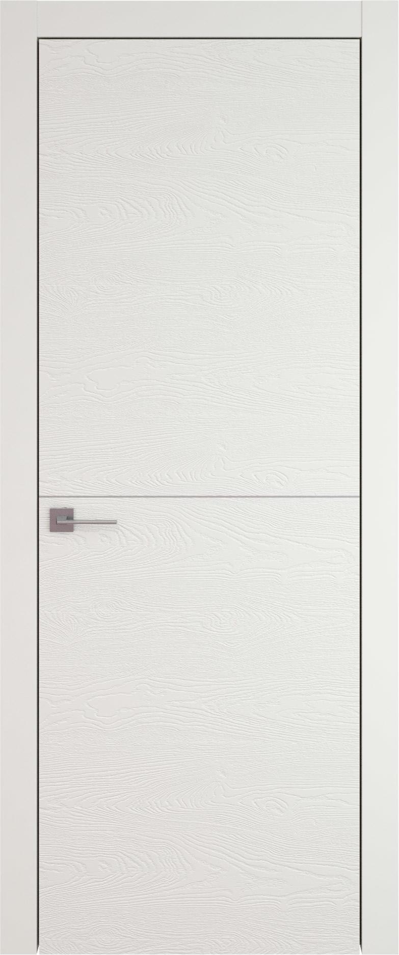 Tivoli Б-3 цвет - Бежевая эмаль по шпону (RAL 9010) Без стекла (ДГ)