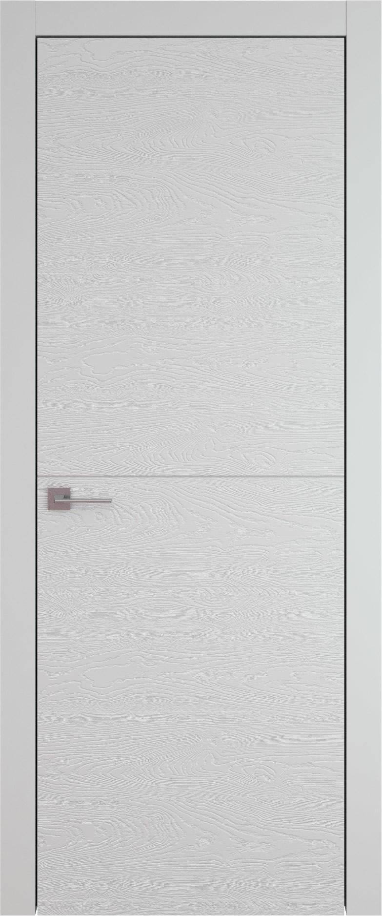Tivoli Б-3 цвет - Серая эмаль по шпону (RAL 7047) Без стекла (ДГ)